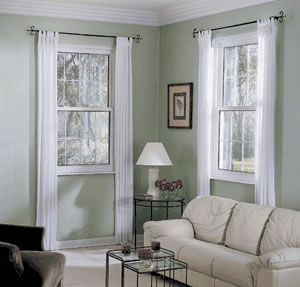 Double hung replacement window - Springfield, MO