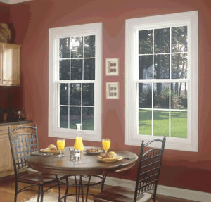 Single hung replacement window - Springfield, MO