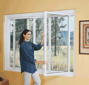 Swing and clean replacement windows - Springfield, MO